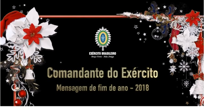 Mensagem de final de ano do Comandante do Exército