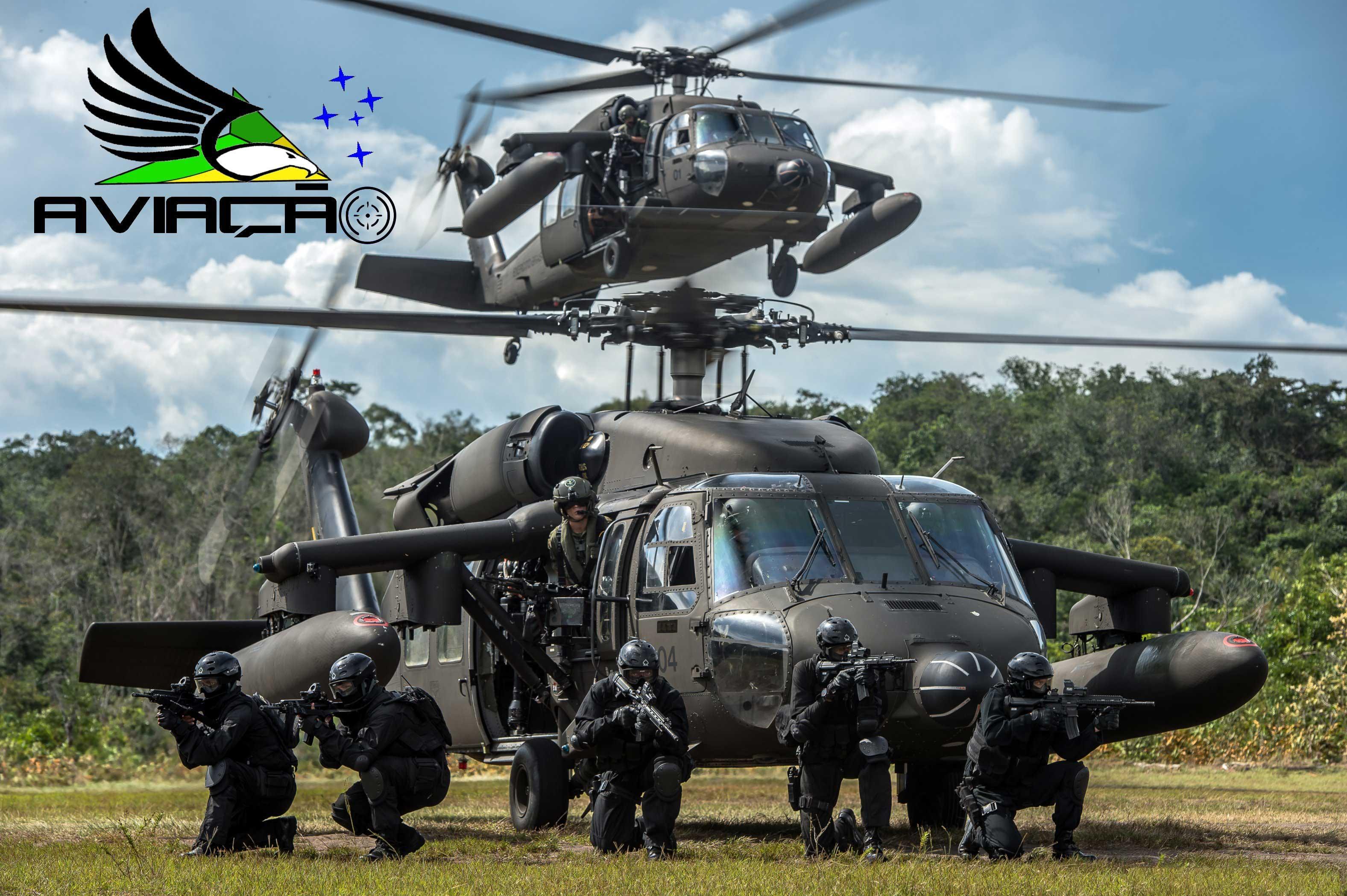 Conheça a Aviação do Exército Brasileiro